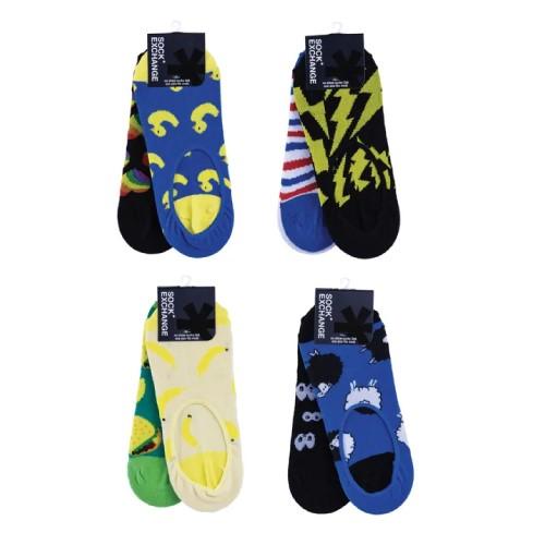 8 Pairs Unisex Novelty No Show Sock Cotton #1