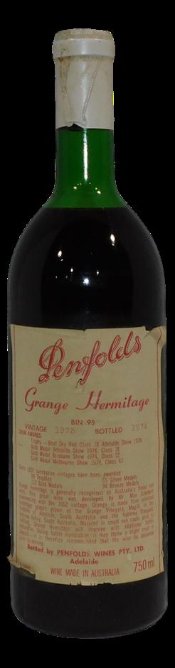 Penfolds Bin 95 Grange Hermitage 1973 (1x 750mL), SA