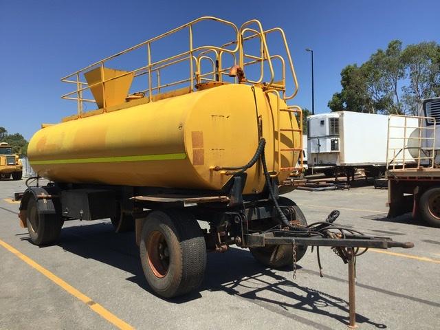 2012 Dongara Body Builders DT180 Tandem Water Trailer
