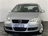 Unreserved 2009 Volkswagen Polo PACIFIC 9N Manual