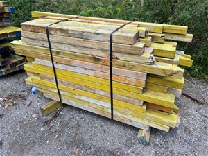 1x Bundle of LVL Formwork Timber