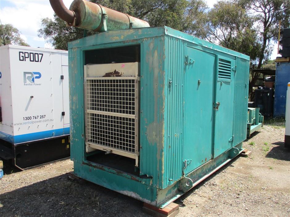 250 KVA Platform Mounted Generator