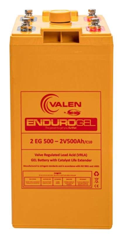 Valen ENDUROGEL 2V500Ah Battery (2 EG 500)