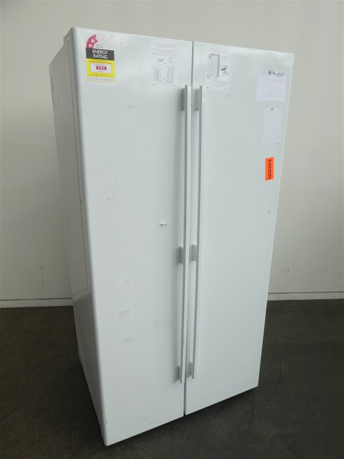Westinghouse 610L Side By Side Fridge (White)(WSE6100WF)