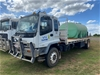 2004 Isuzu FVR 900T 950 4 x 2 Tipper Truck with Slide-In Water Tank