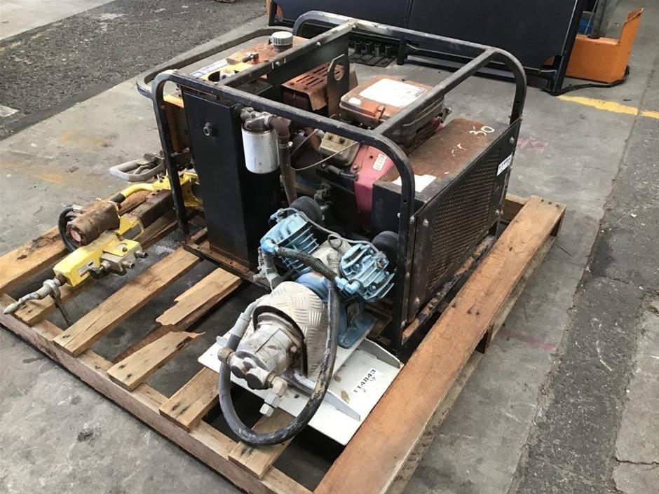 Modern Track DC 5/10 Machinery Hydraulic Power Unit