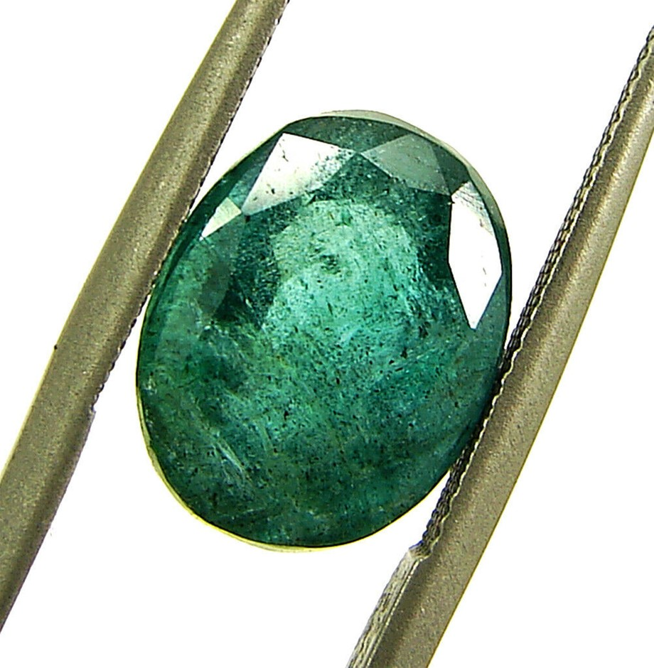One Loose Emerald, 3.82ct in Total