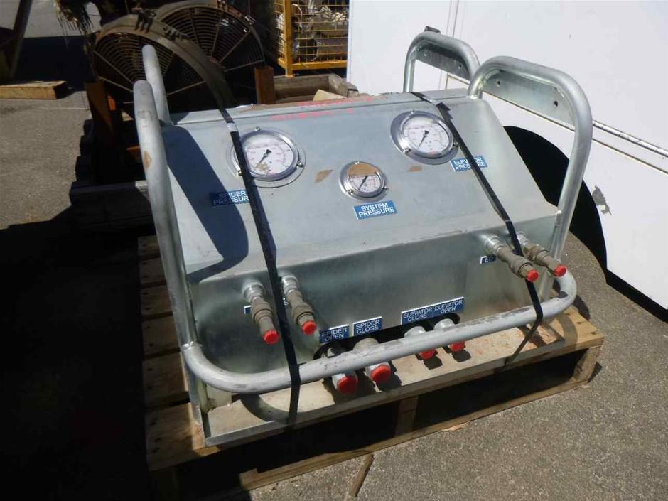2 x Hydraulic Control Manifolds
