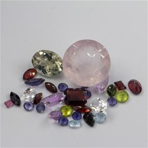 46.75ct Premium Gemstone Mix