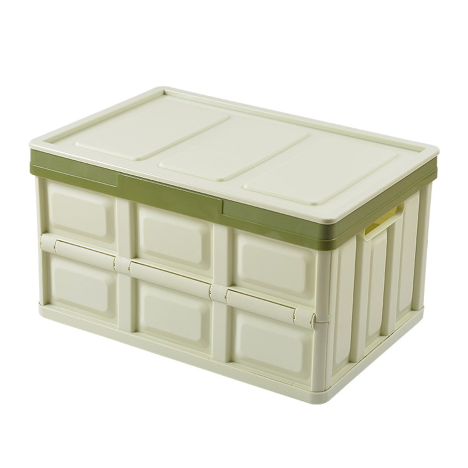 SOGA 56L Collapsible Car Trunk Storage Box Green