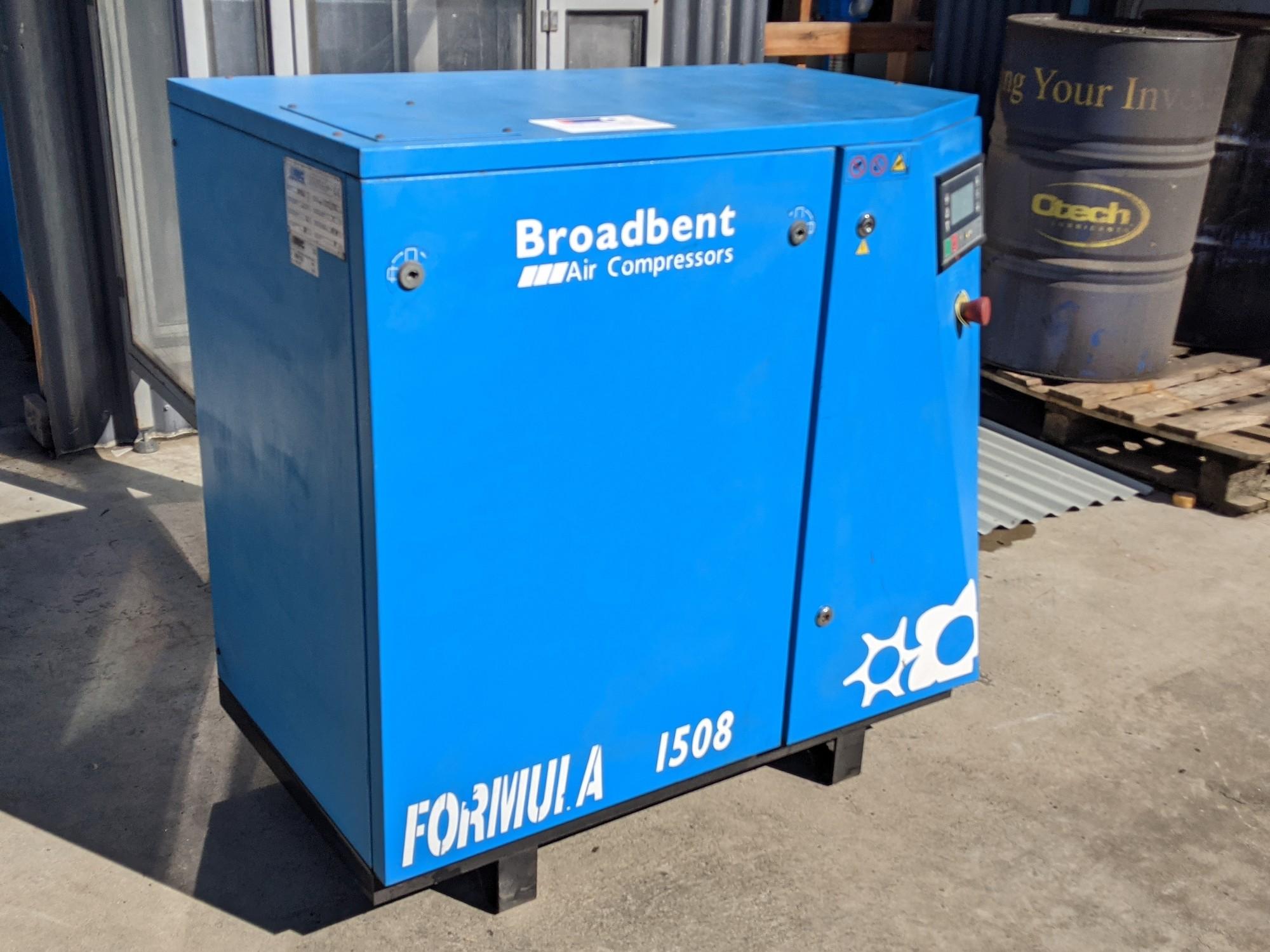 Broadbent Formula 1508 Air Compressor