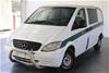 2008 Mercedes Benz Vito 111CDI Compact Crew Cab Turbo Diesel Automatic Van