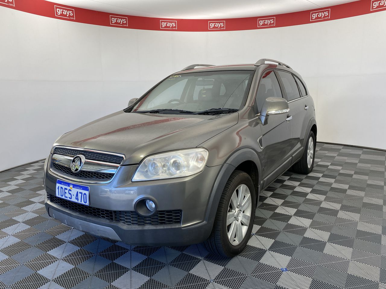 2009 Holden Captiva LX (AWD) CG Turbo Diesel Automatic 7 Seats Wagon