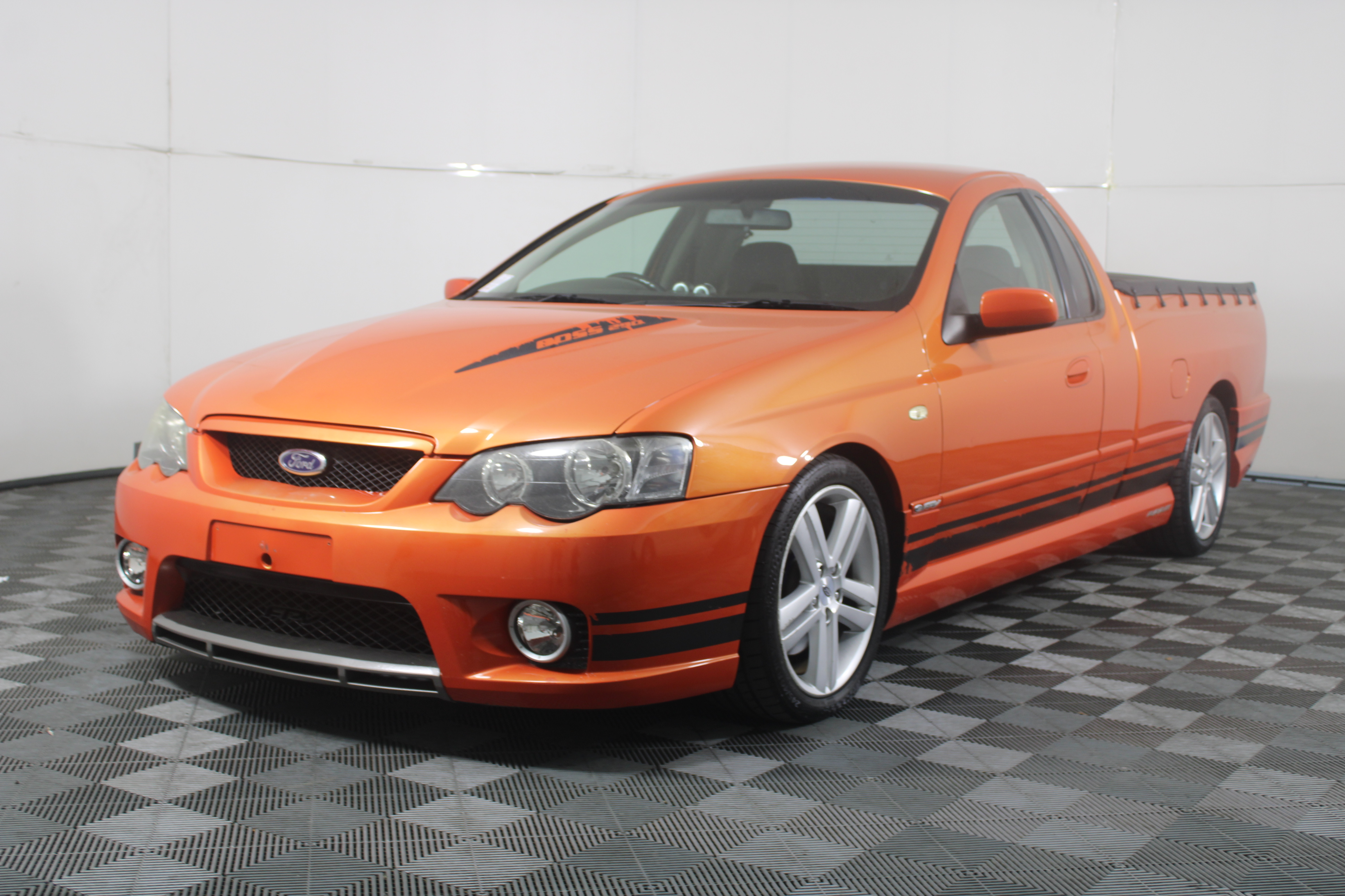 2005 Ford FPV Pursuit BA MKII 6spd manual V8 Ute