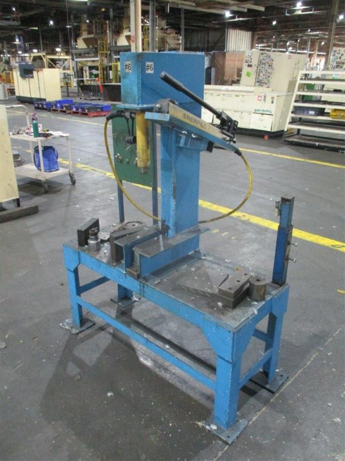 Steel Fabricated Hydraulic Press