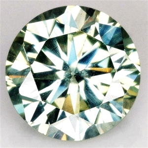 2.92 Carat Green Moissanite