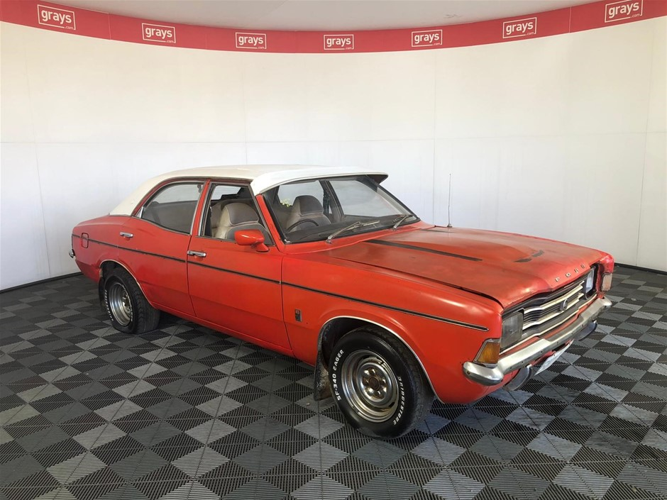1974 Ford Cortina TD XLE Matching No. 250 6cyl, Factory Red Pepper Survivor