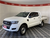 2016 Ford Ranger XL 4X4 PX II T|D Manual Crew Cab Chassis
