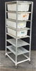 7 Level Backery Trolley With 4 Plactic Tubs