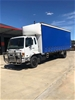 2004 Mitsubishi Fighter FM10 4 x 2 Curtainsider Rigid Truck