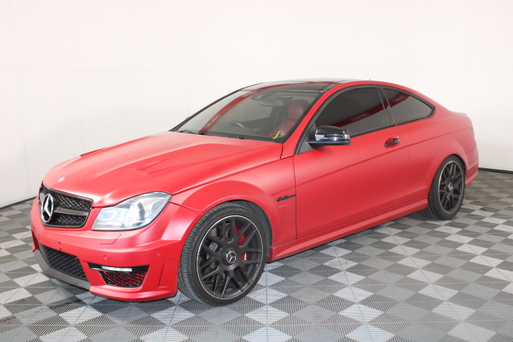 2011 Mercedes Benz C63 AMG Performance Pack W204 Automatic Coupe 72,735 kms