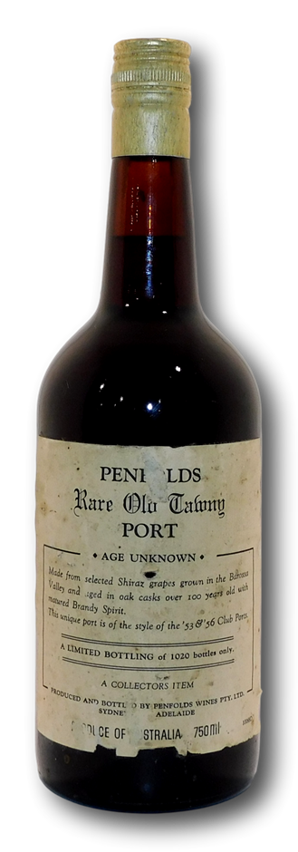 Penfolds Rare Old Tawny Port Age Unknown (1x 750mL), SA