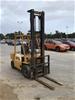 <p>Komatsu FD25 Counterbalance Forklift</p>