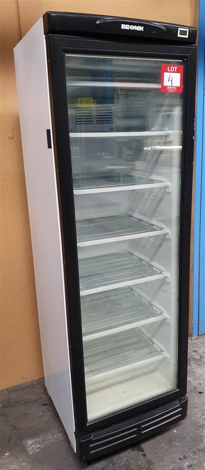 Bromic Single door display Freezer - Fan forced