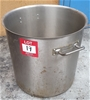 Stainless steel stock pot - Dimensions: 515Wx515Dx500H