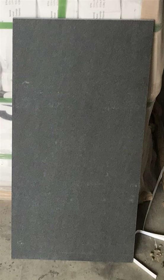 Crate of 320 x Porcelain Tiles First Grade 300 x 600 x 9.8mm (Dark Grey)