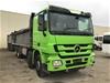<p>2008 Mercedes-Benz ACTROS  8 x 4 Tipper Truck</p>