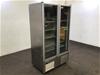 <p>Orford SVDL30B Double Door Freezer</p>