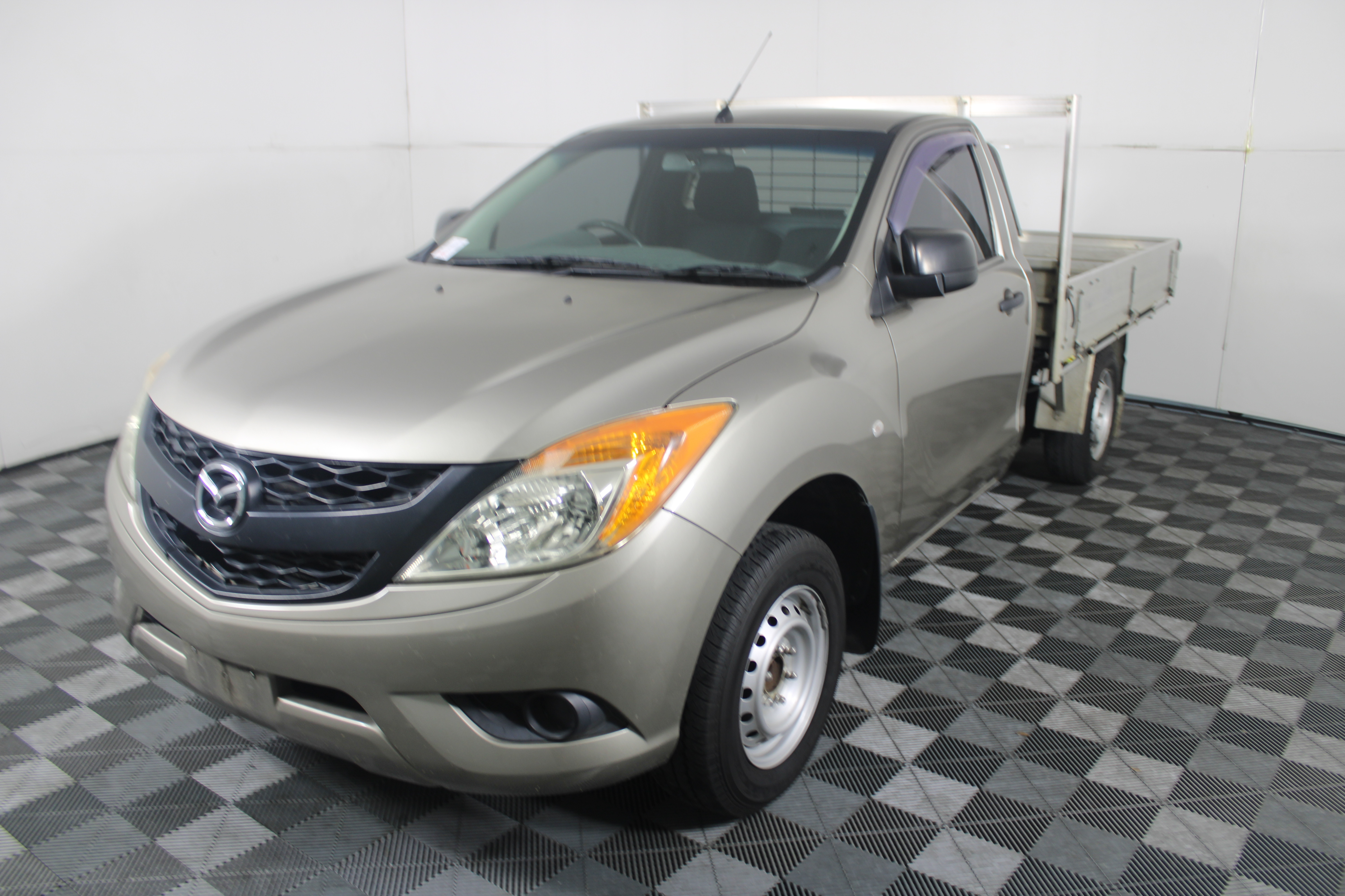 2012 Mazda BT-50 4X2 XT Turbo Diesel Manual Cab Chassis