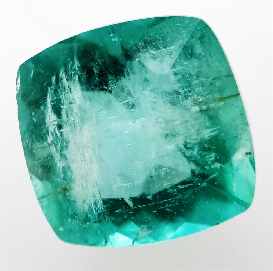 2.37 Carat Colombian Emerald