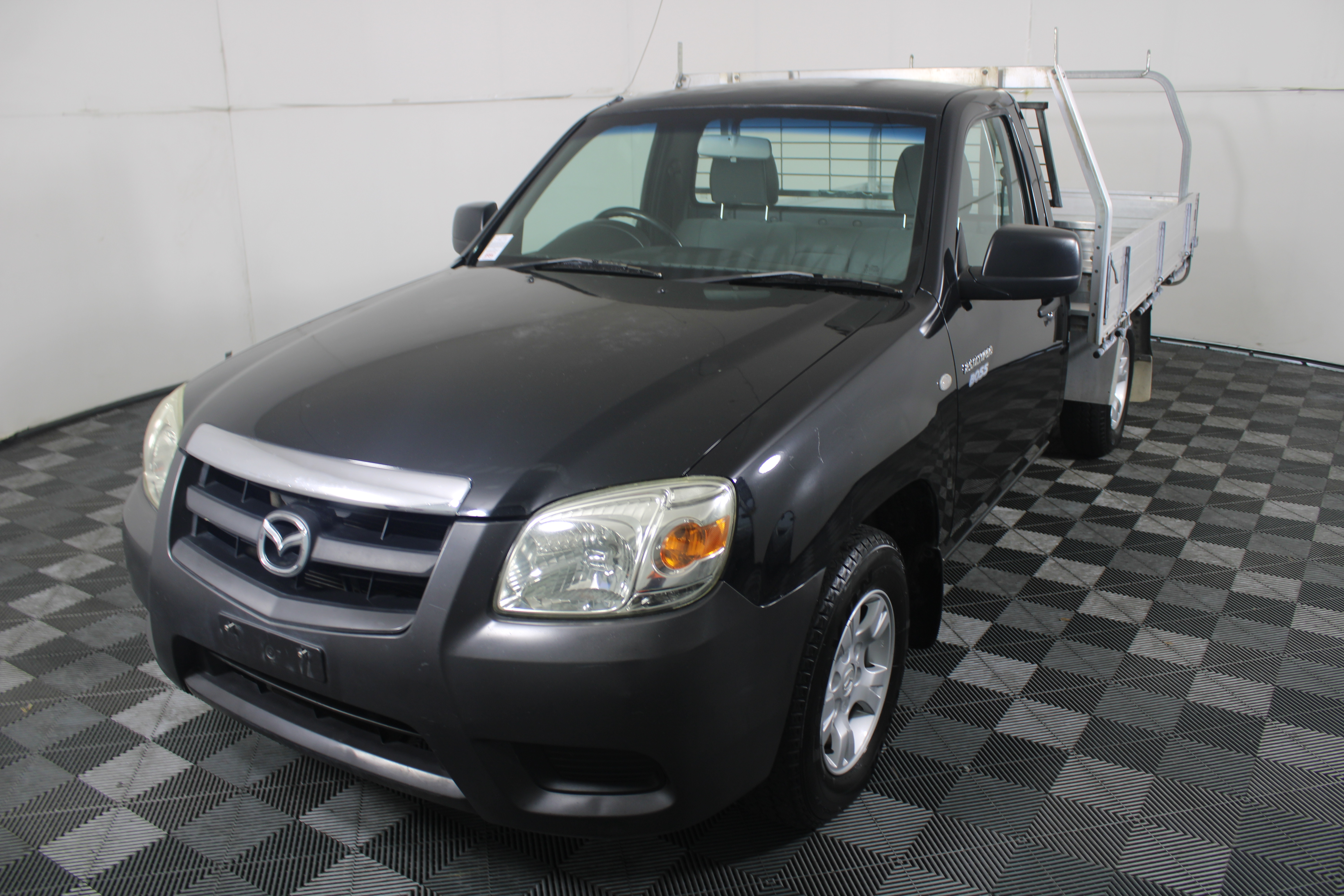 2010 Mazda BT-50 DX B2500 Turbo Diesel Manual Cab Chassis