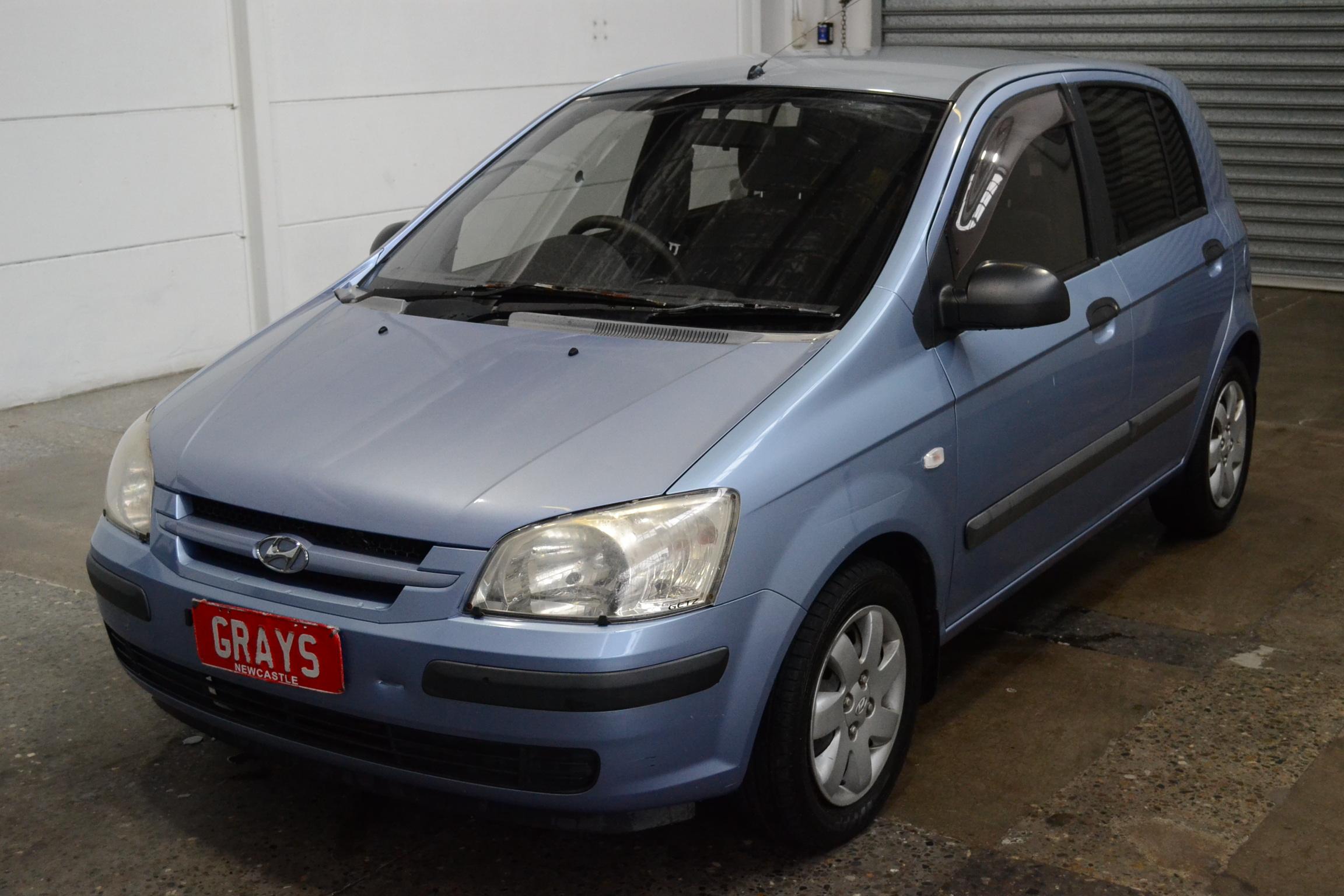 2002 Hyundai Getz GL TB Automatic Hatchback