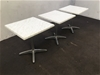 <p>Qty 3 X Isotop Cafe Tables</p>