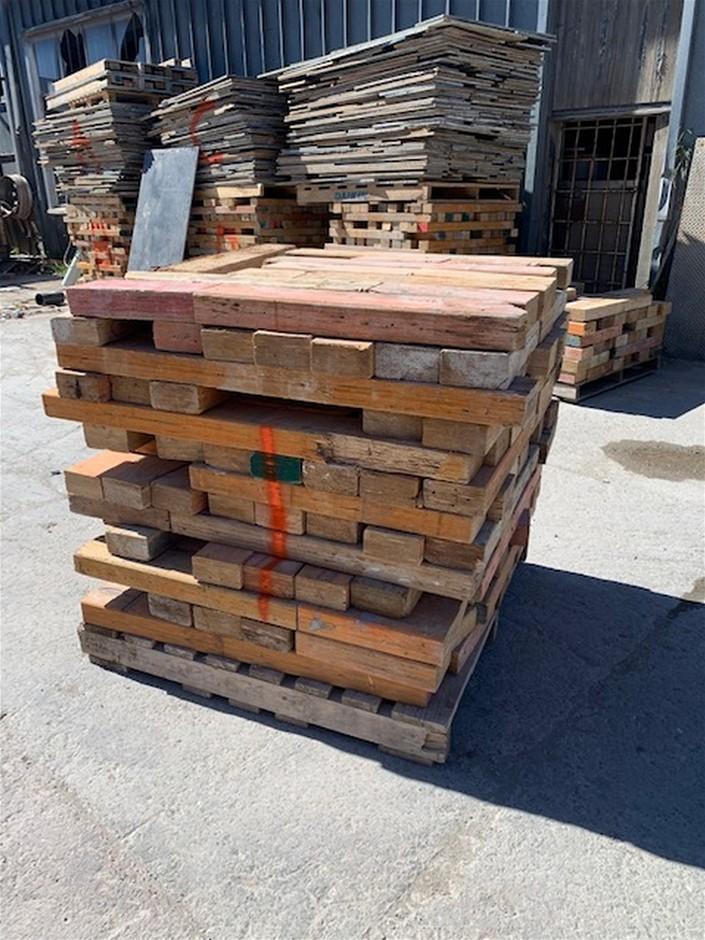 Pallet of Used Level Formwork Timber - Random Lengths