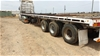 1980 Home Made ST3 Triaxle Flat Top Trailer