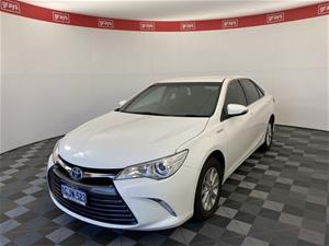 2017 Toyota Camry ALTISE HYBRID AVV50R C
