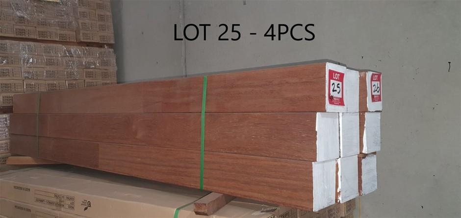 Merbau FJL Post 140 x 140 : Total 4pcs/2.4m