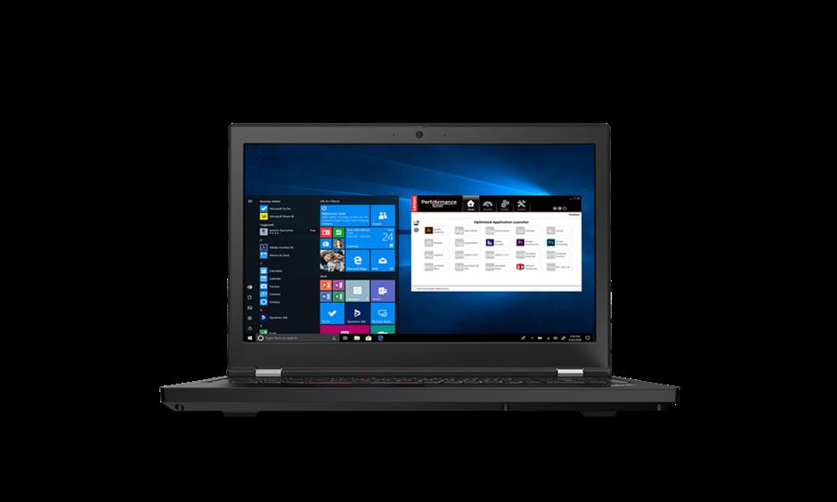 Lenovo ThinkPad P15 Gen-1 15.6-inch Notebook, Black