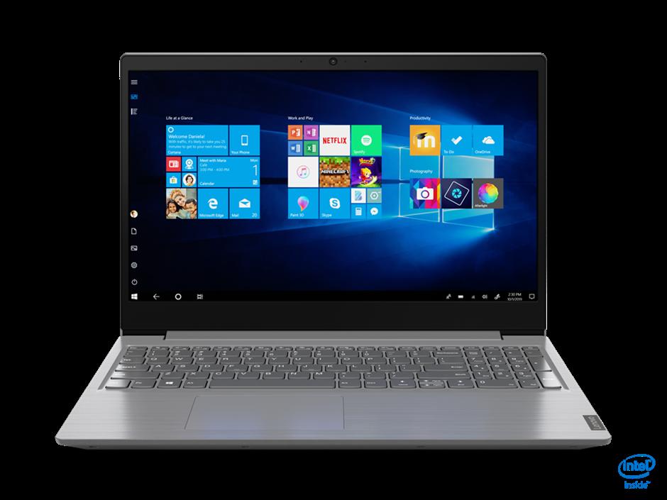 Lenovo V15 IIL 15.6-Inch Notebook, Iron Grey