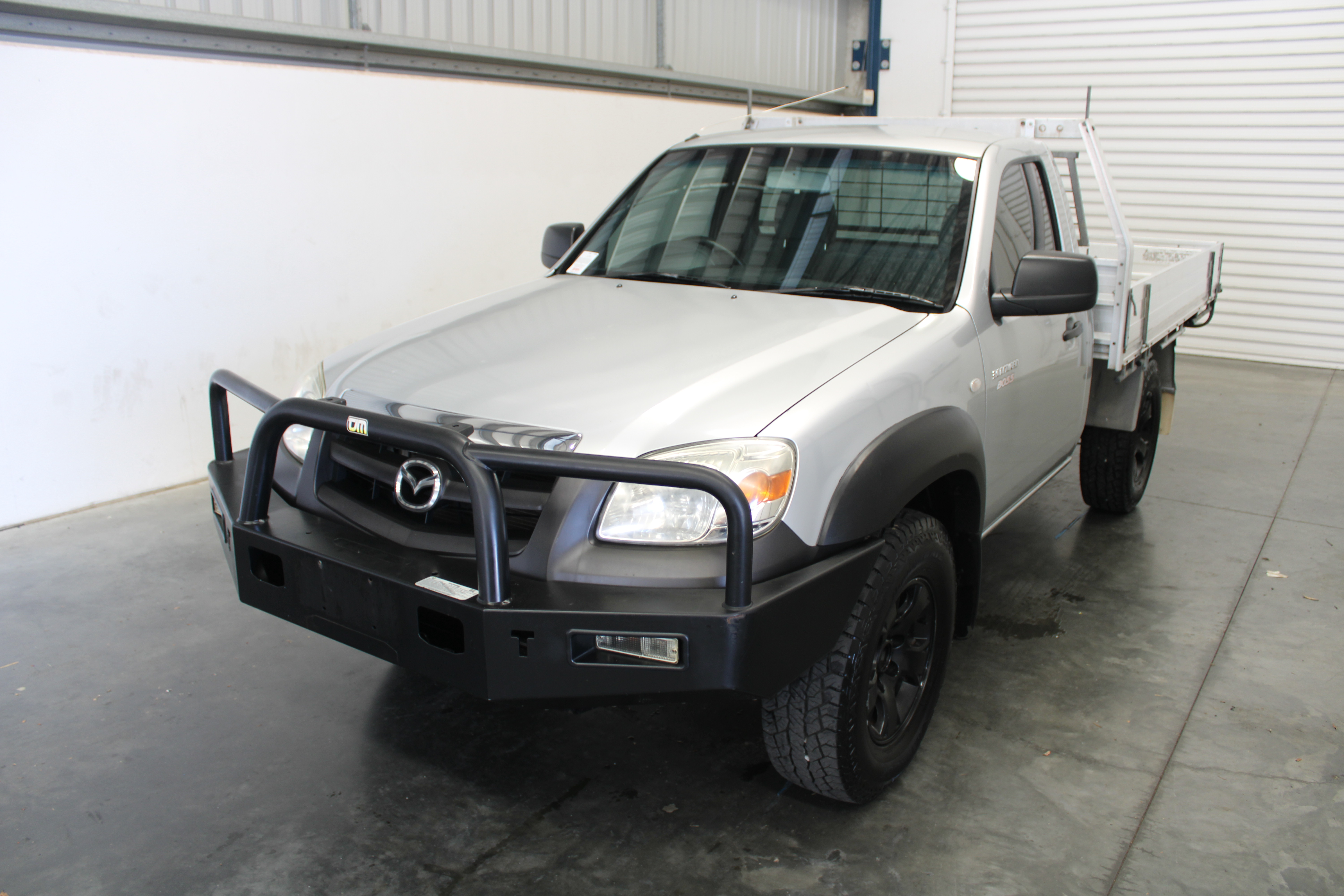 2010 Mazda BT-50 DX 4x4 Turbo Diesel Cab Chassis