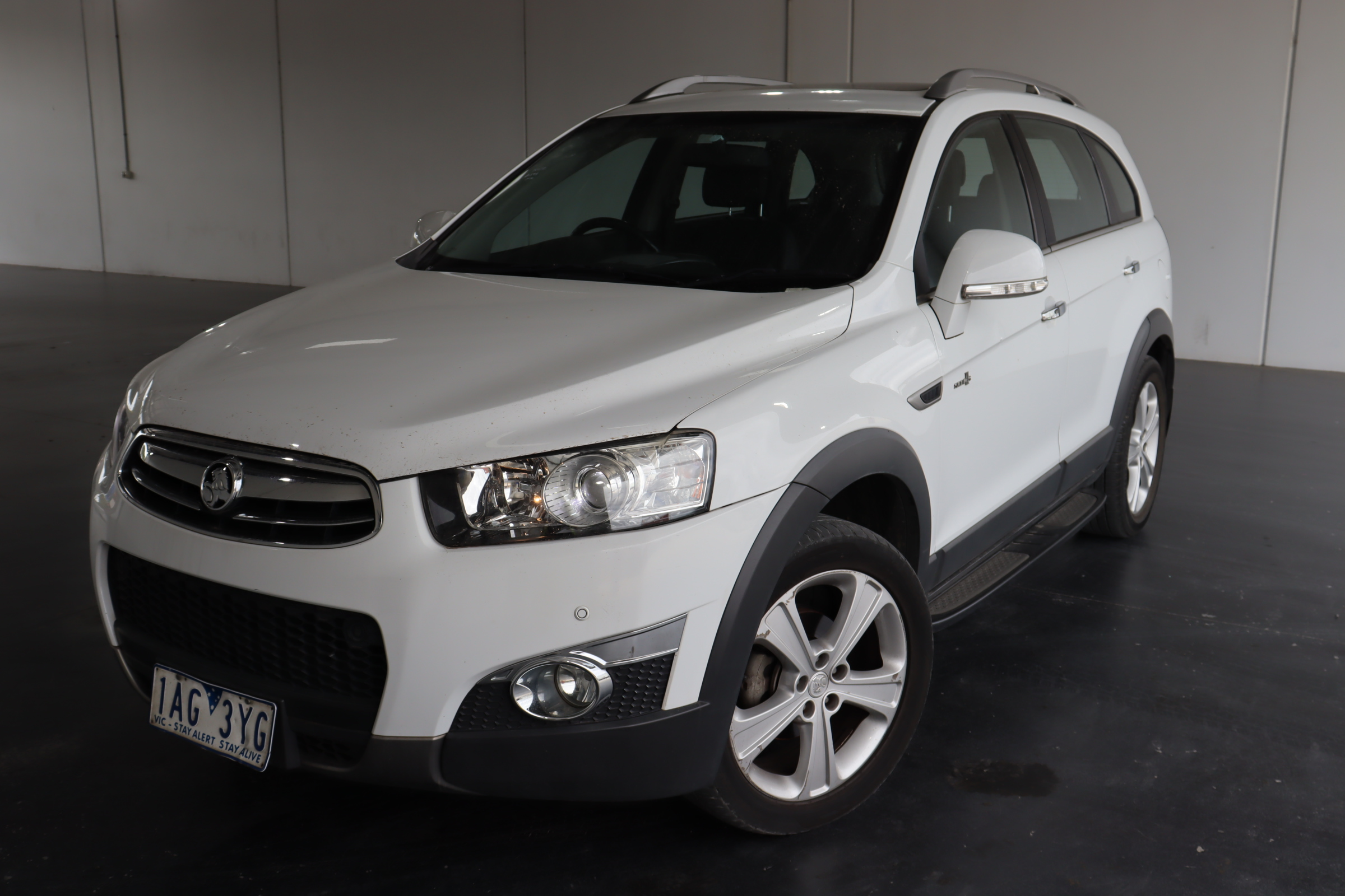 2013 Holden Captiva 7 LX AWD CG II Turbo Diesel Automatic 7 Seats Wagon