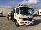 2006 Hino FD 4 x 2 Tray Body Truck