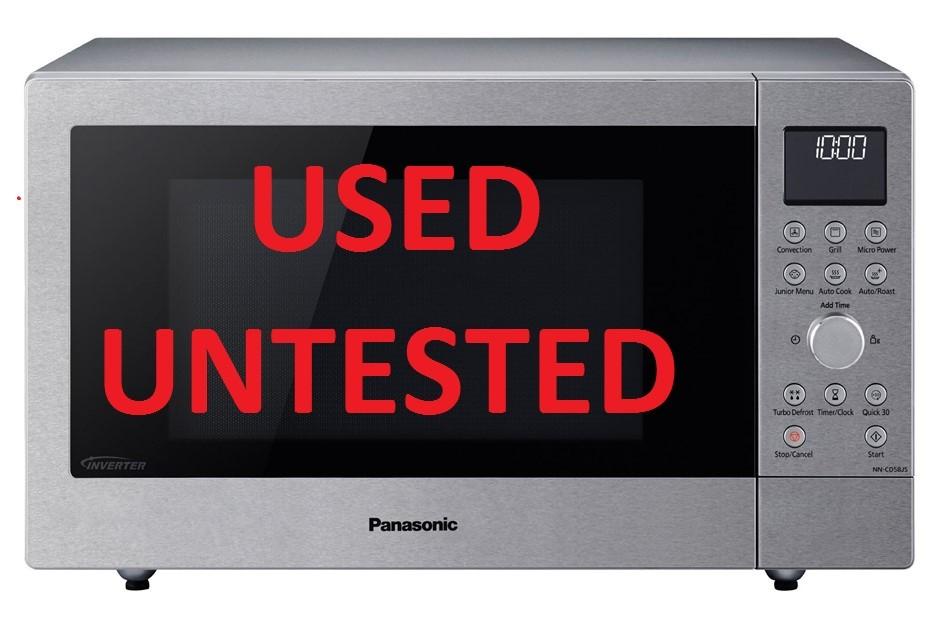 Panasonic NN-CD58JSQPQ 27L Combination Microwave Oven 1000W