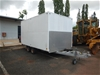 2003 Homemade Trailer Tandem Box Trailer