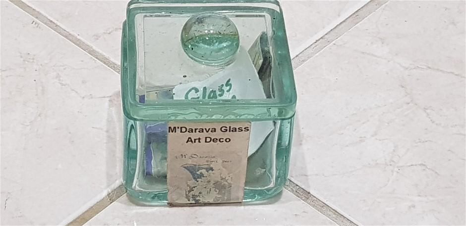 Glass Powder Box