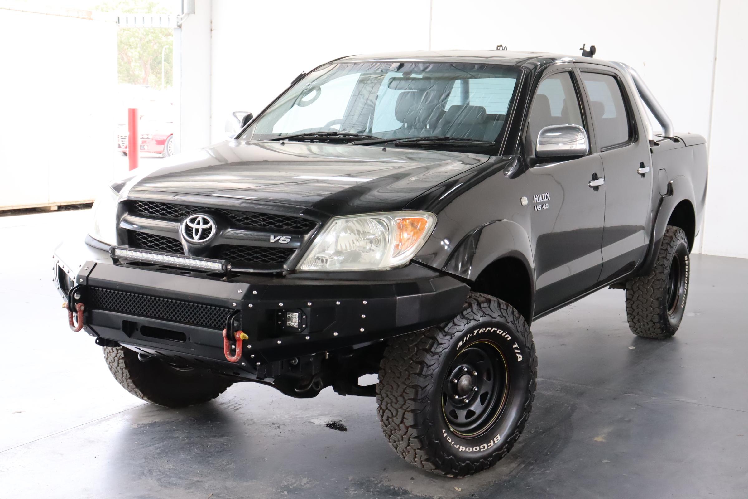2007 Toyota Hilux SR5 (4x4) GGN25R Automatic Dual Cab